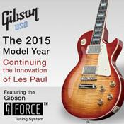 GIBSON THE 2015 MODEL YEAR