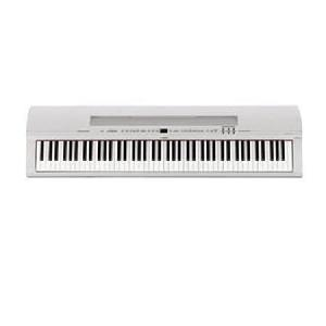 PIANO DIGITAL YAMAHA P-255 WH BLANCO