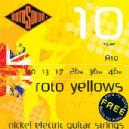 JUEGO ELECT ROTOSOUND ROTO YELLOWS  R-10 (010-046)